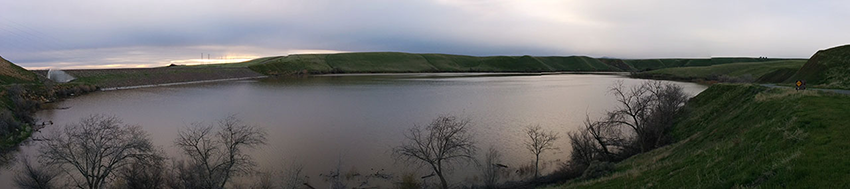 Camping Los Baños   Los Banos Creek Reservoir