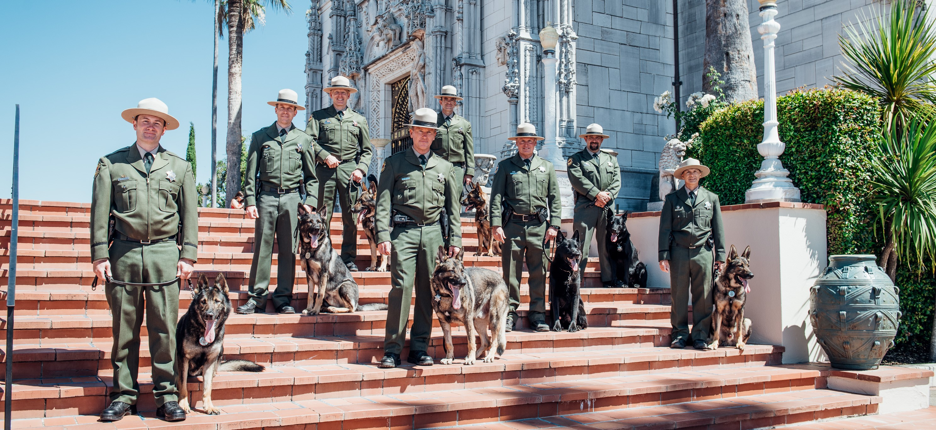 Banner for California State Parks Commemorates 50th Anniversary of K-9 Program