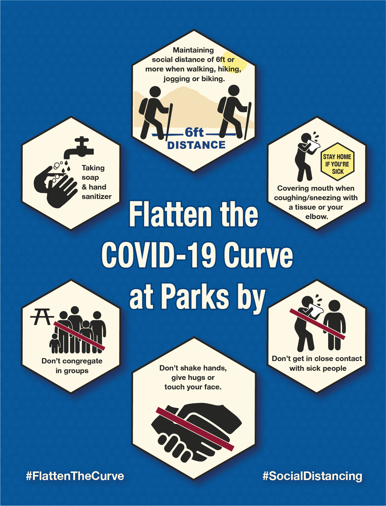 Flatten the COVID-19 Curve imagn