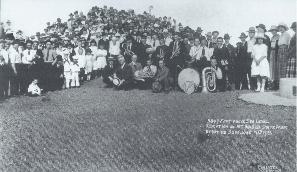 Dedication Ceremony on June 19, 1921