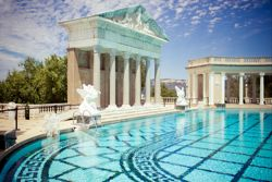 Banner for California State Parks Refills Hearst Castle's Neptune Pool