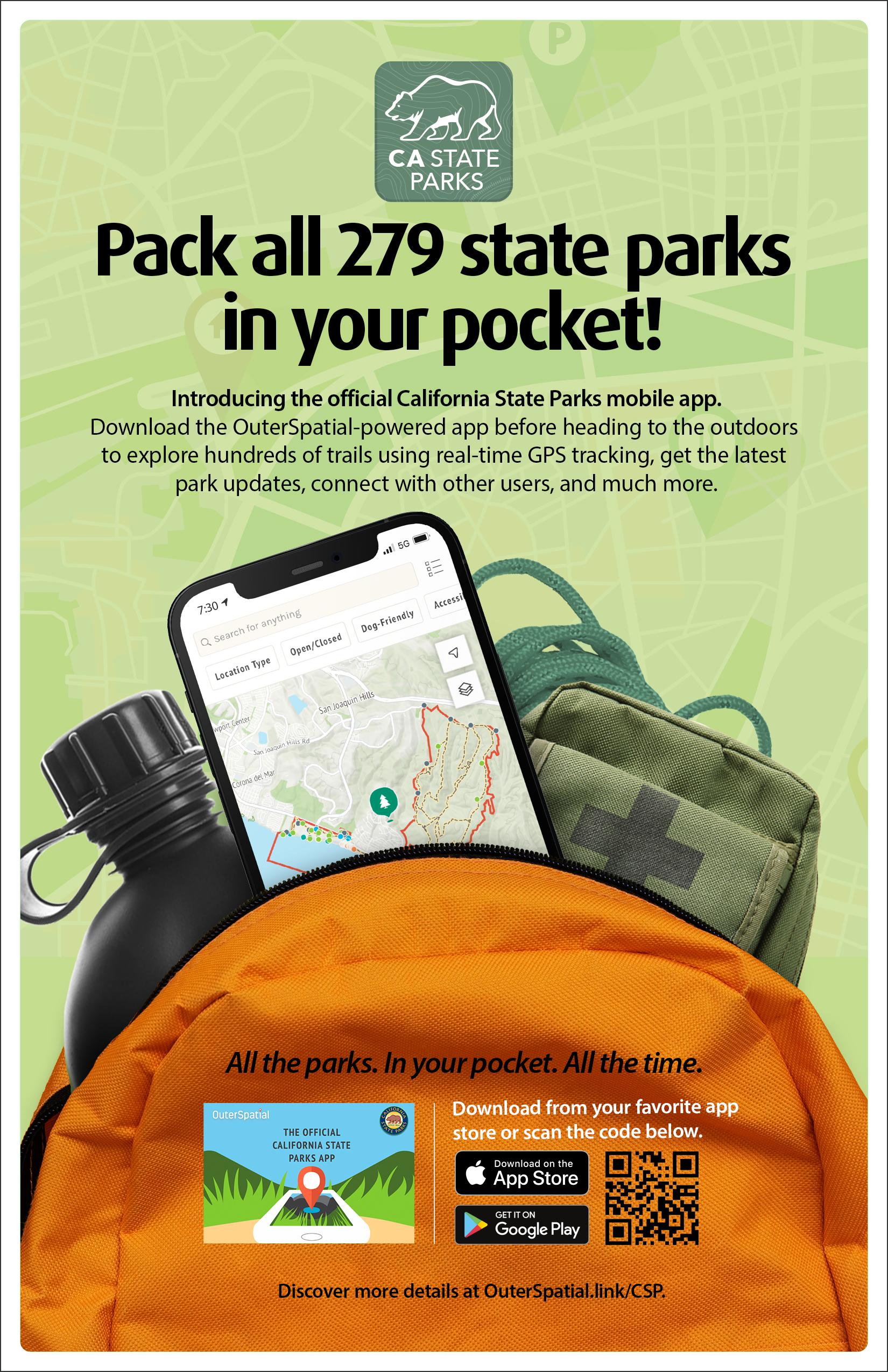 Parks Mobile App link