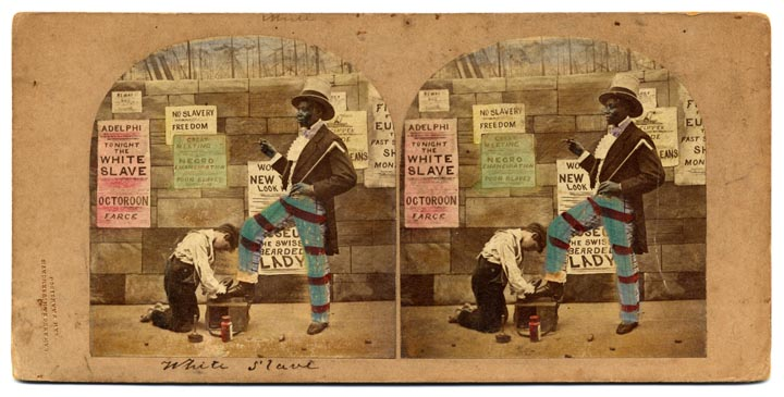 """The White Slave""  Image Courtesy of The California State Library."