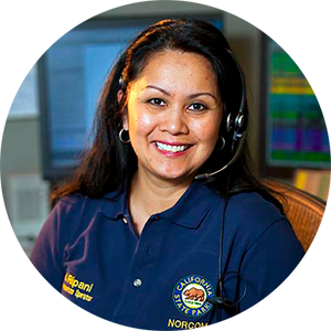 Communications Operator image (female)