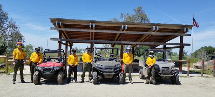 Cadets with ATV images