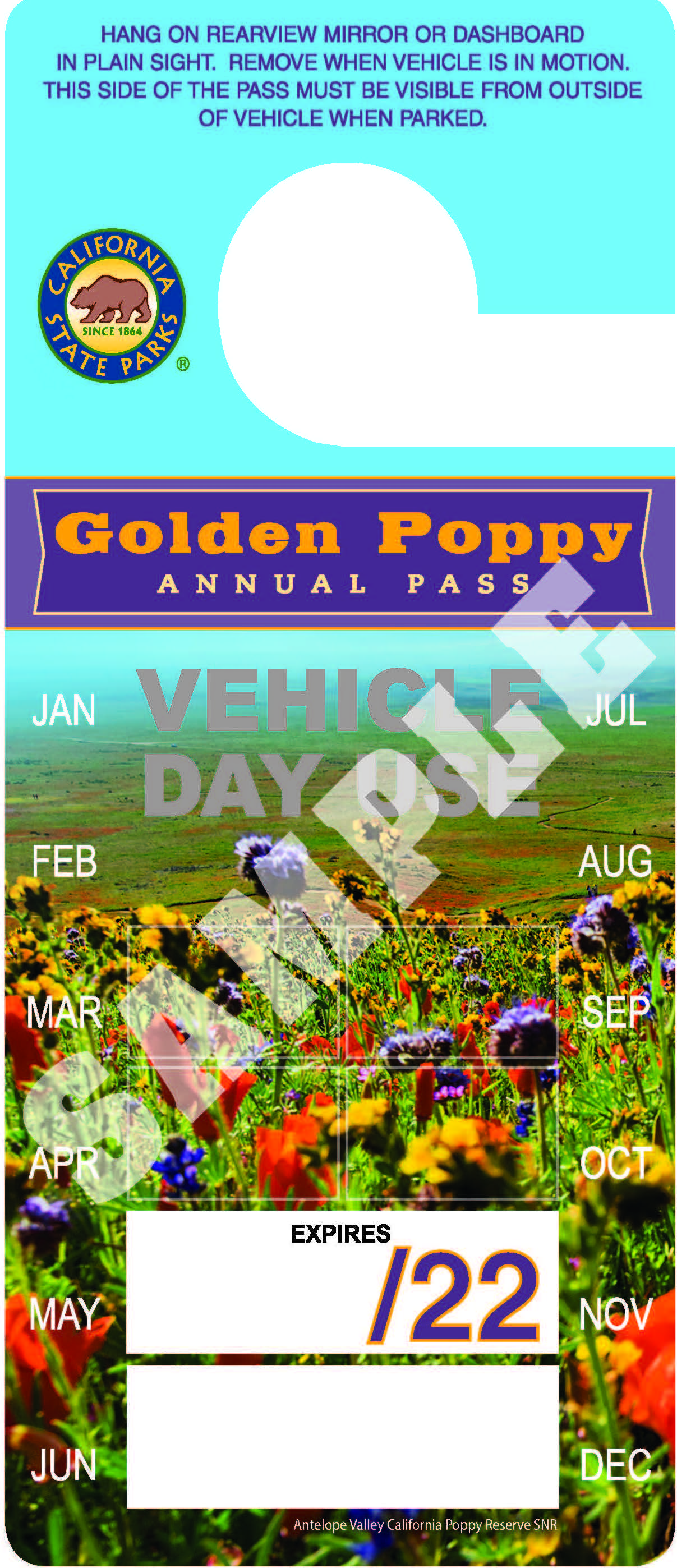 Golden Poppy Annual Pass Image