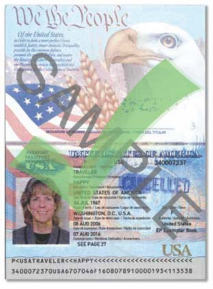 Sample Passport
