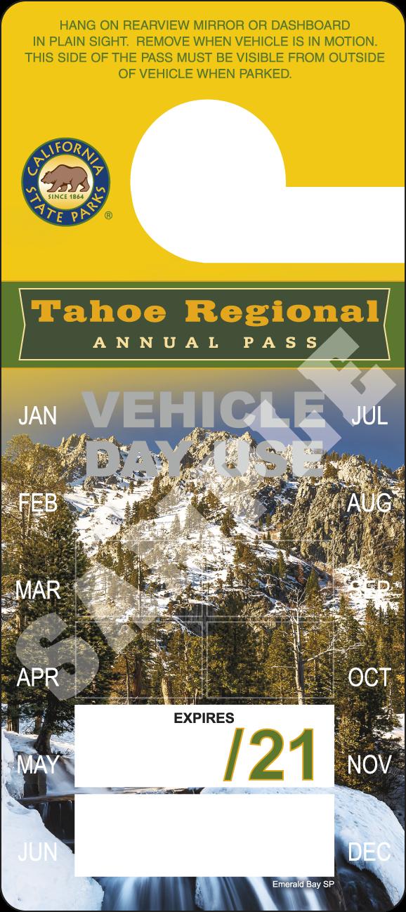 Tahoe Regional Annual 2020 Pass