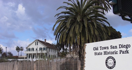Reconstructed McCoy House in Old Town San Diego (Photo by Cynthia Hernandez)