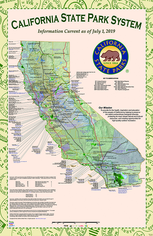 California State Park Maps on